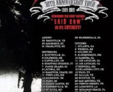 SEBASTIAN BACH TO PERFORM SKID ROW'S 1ST ALBUM ON 30TH ANNIVERSARY TOUR – 2019