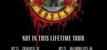 Guns N' Roses 2019 U.S. Tour Dates Announced – Las Vegas, Salt Lake City, Charlotte, Jacksonville, Wichita