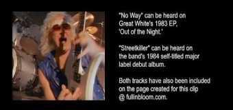"Great White's Mark Kendall Talks ""Streetkiller,"" ""No Way"" & Metallica – BONUS EXCERPT"