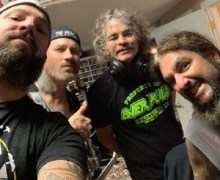 "Mike Portnoy, Bobby ""Blitz"" Ellsworth, Phil Demmel, Mark Menghi – ""Working On Something Very Kewl"""