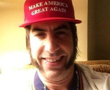 Sacha Baron Cohen:  Who is America Emmy Nomination Statement 2019
