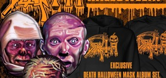 Death: Halloween Mask Set – Scream Bloody Gore, Leprosy, and Spiritual Healing