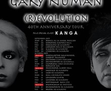 Gary Numan (R)evolution Tour 2019 – 40th Anniversary w/ Kanga