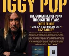 Iggy Pop Photo Exhibit Toronto @ Liss Gallery