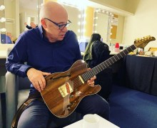 Mark Knopfler Guitar-Slimline Telecaster by Rudy Pensa – Guy Fletcher's Tour Diary