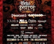 Peavey: 2019 Decibel Fest in Los Angeles Official Amplifier  – Possessed, Vio-lence, Carcass – The Observatory