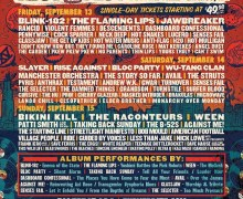 Riot Fest 2019 Schedule – Slayer, Blink-182, The Raconteurs, The Flaming Lips