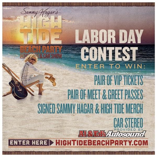 sammy hagar high tide beach party 2020