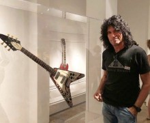 "Tommy Thayer, ""Checking out Jimi Hendrix's Flying V at Metropolitan Museum of Art"" Play It Loud -The Met"