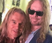 "Tony Franklin, ""John Sykes and I Jammed Together This Weekend"""