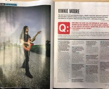 Vinnie Moore: Guitar World Magazine 2019 – UFO