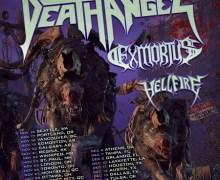 Death Angel 2019 Headline Tour w/ Exmortus, Hellfire
