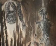 Death 'Human' Original Cover Art on Ebay