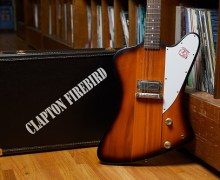 Eric Clapton Gibson 1964 Firebird Prototype Auction 2019