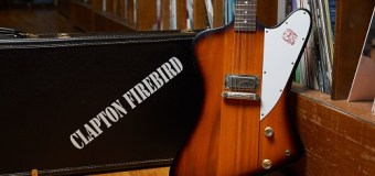Eric Clapton Gibson 1964 Firebird Prototype Auction 2019