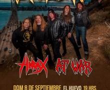 Exodus 2019 Lima, Peru Concert Cancelled ADD Valparaiso, Chile Show w/ At War/Hirax