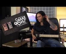 Gus G. Jams The Marvellous Engine & The Very Thing Guitar Pedals by Snake Oil Fine Instruments