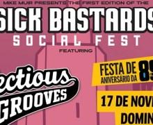 Infectious Grooves in Brazil 2019 w/ Robert Trujillo, Jim Martin, Mike Muir, Brooks Wackerman, Dean Pleasants