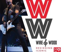 James Hetfield's Snakebyte Guitar @ The Museum of Design Atlanta – Wire & Wood
