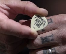 Metallica: James Hetfield Talks 'White Fang' Custom Flow Guitar Pick by Dunlop