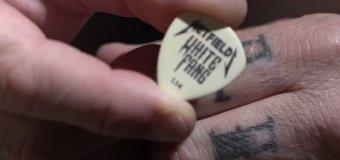 Metallica: James Hetfield Talks 'White Fang' Custom Flow Guitar Pick by Dunlop