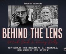 Mick Rock+Henry Diltz East Coast Slideshow Tour 2019/Boston/Philadelphia/DC/NY-Behind The Lens