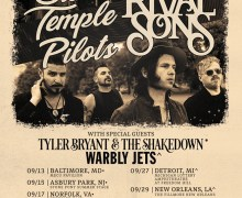 Rival Sons w/ Stone Temple Pilots 2019 Tour Dates/Ticket Info