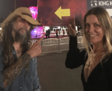 Rob Zombie @ The House of 1000 Corpses Maze Opening @ Universal Studios Hollywood