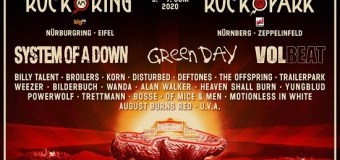 Volbeat @ Rock am Ring/Rock im Park 2020 – System of a Down, Green Day, Deftones, Disturbed