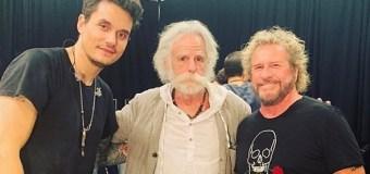 Sammy Hagar, Bob Weir @ John Mayer Concert 2019 – Chase Center San Francisco