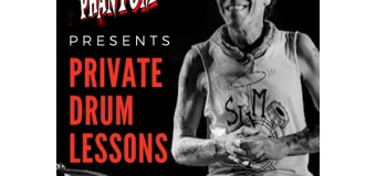 Slim Jim Phantom: Private Drum Lessons Opportunity – Stray Cats 2019