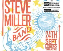 Steve Miller Band @ Lobero Theatre Santa Barbara, CA-Notes for Notes-Seymour Duncan