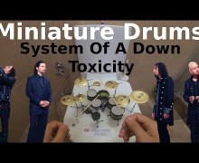 "System of a Down's ""Toxicity"" Played on Tiny Drum Set – VIDEO"