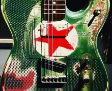 "Tom Morello, ""My Guitar at the Metropolitan Museum Of Art in NYC"""