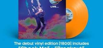 Ace Frehley 'Live…' 2019 Record Store Day – Debut Vinyl/LP Edition