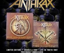 """Anthrax """"Indians"""" / """"Sabbath Bloody Sabbath"""" Limited 7″ – Live in Tokyo – Vinyl"""