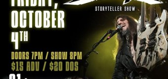 Bumblefoot NY/NJ Storyteller Shows @ The Headliner, Anchor Rock Club, The Cutting Room 2019