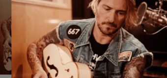 Butch Walker: Custom Gretsch White Falcon Guitar Made For Neil Young for CSNY Reunion