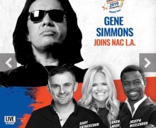 Gene Simmons @ NAC 2019 – L.A. Convention Center 'MISSION TO SUCCESS'