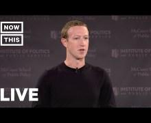 "Sacha Baron Cohen Calls Mark Zuckerberg Speech ""Disingenuous"" 2019"