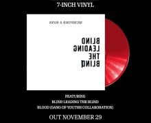 """Mumford & Sons 7″ Red Vinyl Single – """"Blind Leading The Blind""""+""""Blood"""" – Gang of Youths"""