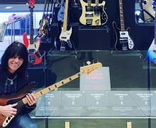 Rudy Sarzo @ Geddy Lee Bass Exhibit @ Calgary's National Music Center 2019