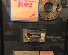 "Brian Slagel: ""Muscle of Love by Alice Cooper originally came out on this day in 1973…."" Metal Blade Records"