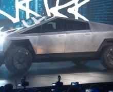 "Elon Musk:  ""Nobody *expects* the Cybertruck"" – Tesla"