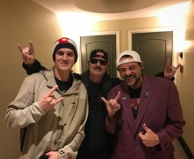 King Diamond in Salt Lake City 2019 w/ Jay & Silent Bob – Jason Mewes and Kevin Smith