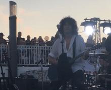 Bruce Kulick Performs w/ KISS on Revolving Stage 2019 – VIDEO – KISS Kruise – KKIX