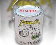 Metallica: Auction – Fan Can – Autographed – Ebay
