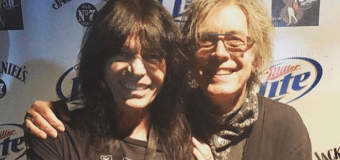 """Rudy Sarzo, """"What would Tom Peterson play?"""" – Tracking Quiet Riot's """"Cum On Feel The Noize""""- Cheap Trick"""