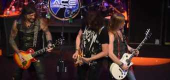"""Ginger Wildheart, """"Ace Frehley has got himself a great sounding band"""" – VIDEO 2019 @ at Joe's Live Rosemont Chicago"""