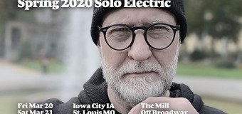 Bob Mould 2020 Tour Dates Announced – Solo Electric